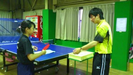 中国人コーチ