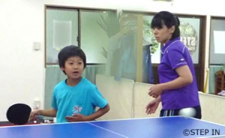 小学生・中学生を対象とした卓球教室