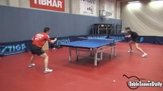 【動画あり】オフチャロフ選手の3点&ランダムフットワーク