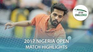 【動画】ABIODUN Bode VS SHETTY Sanil 2017 ITTFチャレンジ、ナイジェリアオープン 準々決勝