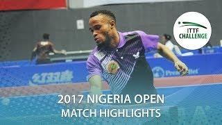 【動画】OLADIRAN Joshua VS HACHARD Antoine 2017 ITTFチャレンジ、ナイジェリアオープン ベスト64