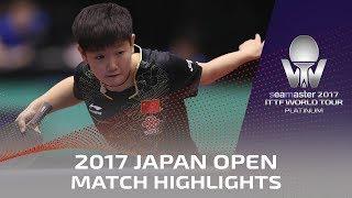【動画】陳夢 VS 孫穎莎 シーマスター2017 プラチナ、ライオンジャパンオープン 決勝