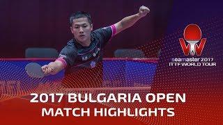 【動画】SKACHKOV Kirill VS YANG Tzu-Yi 2017シマスター2017 アサレルブルガリアオープン ベスト32