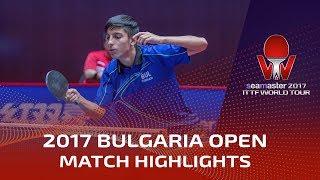 【動画】及川瑞基 VS TODOROV Stefan 2017シマスター2017 アサレルブルガリアオープン ベスト32