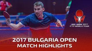 【動画】ドミトリ・オフチャロフ VS SKACHKOV Kirill 2017シマスター2017 アサレルブルガリアオープン ベスト32