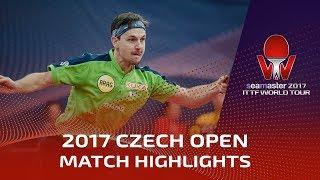 【動画】ティモ・ボル VS アサール 2017シマスター2017 チェコオープン ベスト32