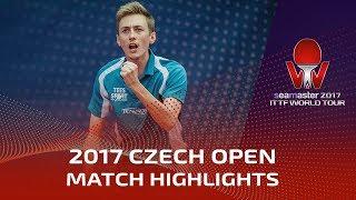 【動画】ピッチフォード VS MUTTI Leonardo 2017シマスター2017 チェコオープン