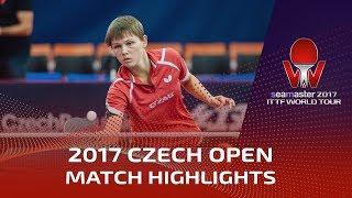 【動画】アドリアーナ・ディアス VS ミッテルハム 2017シマスター2017 チェコオープン 決勝