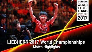 【動画】水谷隼 VS 張本智和 LIEBHERR 2017世界卓球選手権 ベスト64