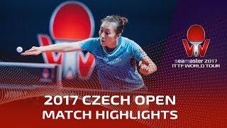 【動画】ハン・イン VS 伊藤美誠 2017シマスター2017 チェコオープン 準決勝