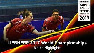 【動画】ロブレス・DVORAK Galia VS アサール・MESHREF Dina LIEBHERR 2017世界卓球選手権 ベスト16