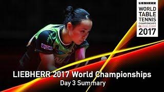 【動画】伊藤美誠 VS GUI Lin LIEBHERR 2017世界卓球選手権 ベスト128