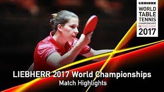 【動画】ORTEGA Daniela VS ASCHWANDEN Rahel LIEBHERR 2017世界卓球選手権 ベスト64
