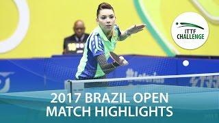【動画】スッチ VS ザリフ シーマスター2017 ITTFチャレンジ、シーマスターブラジルオープン 決勝