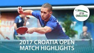 【動画】邱党 VS ZIBRAT Jan 2017 ITTFチャレンジ、ザグレブオープン