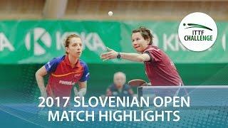 【動画】サマラ・STRBIKOVA Renata VS EKHOLM Matilda・POTA Georgina 2017 ITTFチャレンジ、スロベニアオープン 決勝
