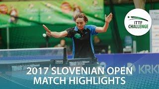 【動画】佐藤瞳 VS CHENG Hsien-Tzu 2017 ITTFチャレンジ、スロベニアオープン 準決勝