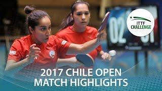 【動画】MORALES Judith・VEGA Paulina VS CODINA Ana・MOLERO Candela シーマスター2017 ITTFチャレンジ、シーマスターチリオープン 決勝