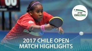 【動画】VEGA Paulina VS MEDINA Paula シーマスター2017 ITTFチャレンジ、シーマスターチリオープン 準決勝