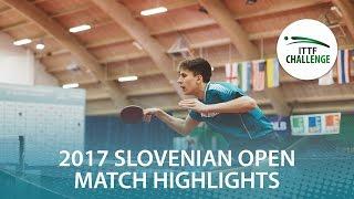 【動画】LEVENKO Andreas VS KLEIN Dennis 2017 ITTFチャレンジ、スロベニアオープン