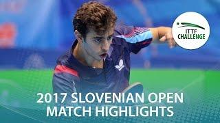 【動画】MADRID Marcos VS MAJSTOROVIC Ilija 2017 ITTFチャレンジ、スロベニアオープン