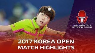 【動画】LIM Jonghoon VS 木造勇人 シーマスター2017 韓国オープン 決勝