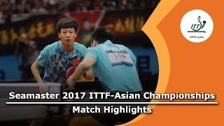 【動画】樊振東・LIN Gaoyuan VS 方博・ZHOU Yu 2017年ITTF  - アジア選手権 決勝