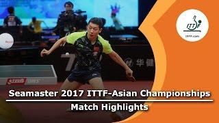 【動画】許昕 VS 張禹珍 2017年ITTF  - アジア選手権 ベスト16