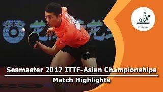 【動画】JAYASINGHA Nirmala VS 許昕 2017年ITTF  - アジア選手権 ベスト64
