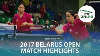 【動画】LIN Chia-Hsuan・LIN Po-Hsuan VS 加藤美優・森薗美咲 2017年ITTFチャレンジ、Belgosstrakhベラルーシオープン 決勝