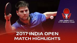 【動画】張本智和 VS ドミトリ・オフチャロフ シーマスター2017 インドオープン 決勝