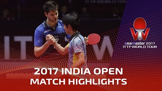 【動画】ドミトリ・オフチャロフ VS 丹羽孝希 シーマスター2017 インドオープン 準決勝