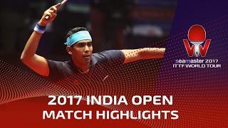 【動画】ドリンコール VS カマル・アチャンタ シーマスター2017 インドオープン 準々決勝