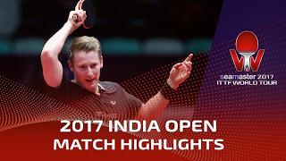 【動画】ドリンコール VS フィルス シーマスター2017 インドオープン ベスト16