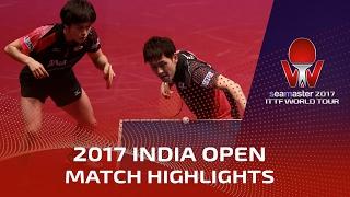 【動画】森薗政崇・大島祐哉 VS カマル・アチャンタ・SHETTY Sanil シーマスター2017 インドオープン 準々決勝