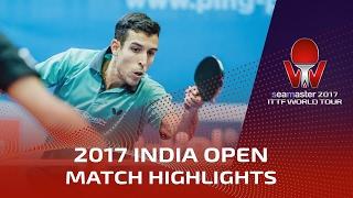 【動画】ロブレス VS GROVER Sudhanshu シーマスター2017 インドオープン