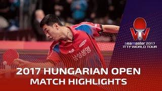 【動画】トキッチ VS 朱世赫 シーマスター2017 ハンガリーオープン ベスト32