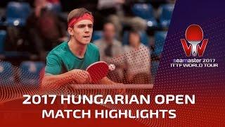【動画】AKKUZU Can VS ゲラシメンコ シーマスター2017 ハンガリーオープン 決勝