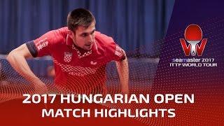 【動画】KOJIC Frane VS チュウ・ジユ シーマスター2017 ハンガリーオープン