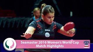【動画】ペトリッサ・ゾルヤ VS 沈燕飛 2016シーマスター女子ワールドカップ ベスト16