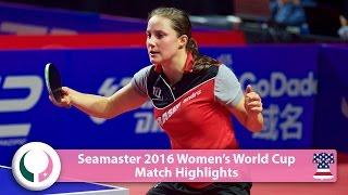 【動画】梁夏銀 VS サビーネ・ウィンター 2016シーマスター女子ワールドカップ ベスト16