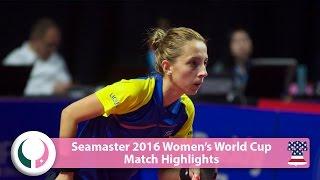【動画】サマラ VS 沈燕飛 2016シーマスター女子ワールドカップ