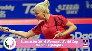 【動画】POTA Georgina VS DEDERKO Zhenhua 2016シーマスター女子ワールドカップ