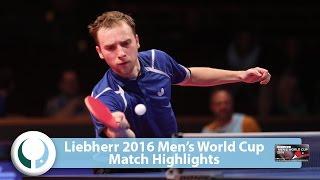 【動画】シバエフ VS ステファン・フェゲル LIEBHERR 2016男子ワールドカップ