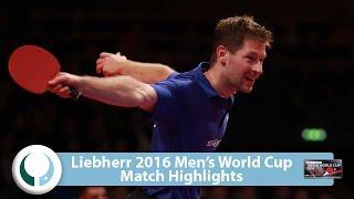 【動画】バスティアン・シュテガー VS カルデラノ LIEBHERR 2016男子ワールドカップ