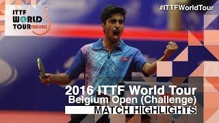 【動画】NUYTINCK Cedric VS ガナナセカラン 2016年ベルギーオープン 決勝