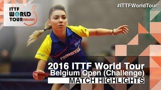 【動画】スッチ VS POTA Georgina 2016年ベルギーオープン 準決勝