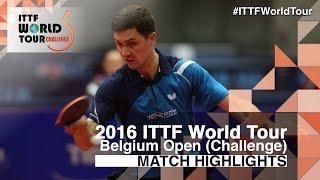 【動画】LIVENTSOV Alexey VS MUTTI Leonardo 2016年ベルギーオープン ベスト32