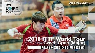 【動画】CHO Eonrae・PARK Jeongwoo VS KIM Minhyeok・PARK Ganghyeon 2016年チェコオープン 決勝