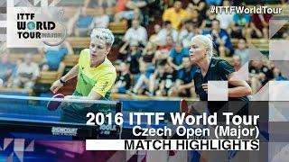 【動画】ドルギフ・MIKHAILOVA Polina VS EKHOLM Matilda・POTA Georgina 2016年チェコオープン 決勝